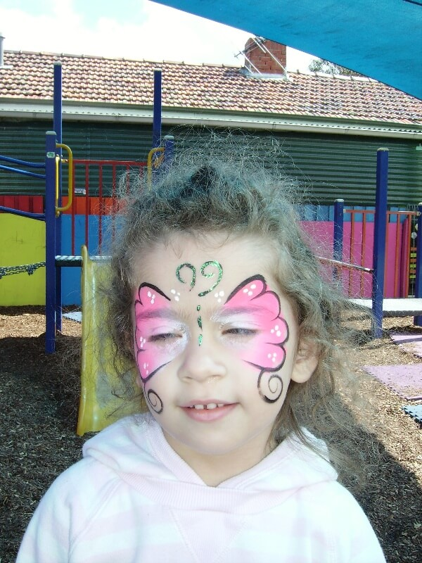 Magician Face Painting